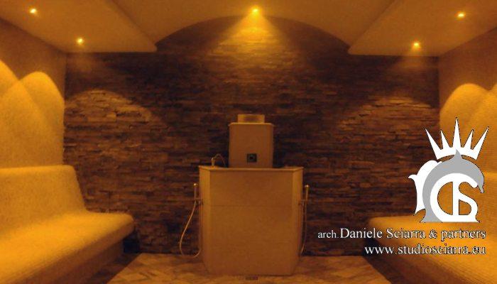 Progettazione e realizzazione centro benessere spa - Bagno turco roma ...