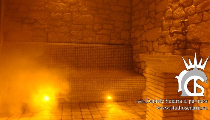 Realizzazione hotel e centri benessere spa per hotel ville - Realizzazione bagno turco ...