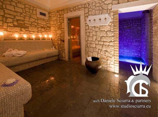progettazione centro benessere spa in albergo e resort